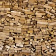 Sorted firewood — Stock Photo