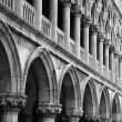 Doge's Palace Columns — Stock Photo