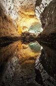Cueva de los Verdes (Lanzarote) — Stock Photo
