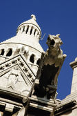Gargoyle of the Sacre Coeur Basilica in Paris, France — Stock Photo