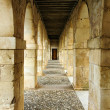 Arcade passageway — Stock Photo