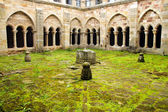 Santa Maria la Real Monastery cloister, Aguilar de Campoo — Stock Photo