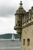 Torre de Belem detail, Lisbon (Portugal) — Stock Photo