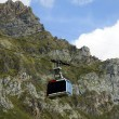 Cable car of Fuente De, Cantabria — Stock Photo