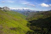 View of the valley from Piedras Luengas viewpoit — Stock Photo