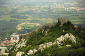 Castelo dos Mouros in Sintra, (Portugal) — Stock Photo