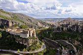 Old town of Cuenca, Spain — Stock Photo