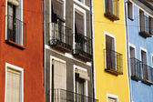 Colorful facades — Stock Photo