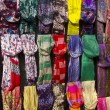 Colorful scarfs — Foto Stock