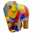 Colored Elephant — Foto Stock