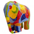 Colored Elephant — Stockfoto