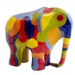 Stock Photo: Colored Elephant