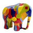 图库照片: Colored Elephant