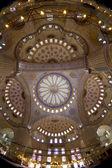 Mosque interior dome — Stock Photo