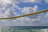 Rope against sky — Stock Photo