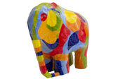 Colored Elephant — Stock fotografie