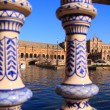 Plaza de España, Seville - Stock Photo