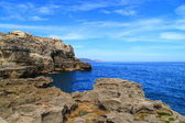 Aguadu cliff, Melilla. — Stock Photo
