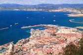 Algeciras bay,Gibraltar — Stock Photo