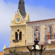 Stockfoto: Sagrado Corazon church,Melillcenter