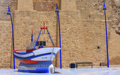 Boat, Melilla. — Stock Photo