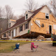Tornado aftermath in Lapeer, MI. — Stockfoto