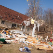Tornado aftermath in Lapeer, MI. — Stock Photo #10319917