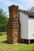 Old Chimney at Smoky Mountains National Park. — Stock Photo