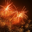 Real firework at night — Stock Photo #10407738