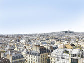 Paris-panorama — Stockfoto