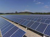 Photovoltaik Station — Stock Photo