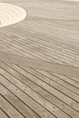 Promenade planks — Stock Photo