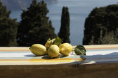 Lemons in amalfi — Stock Photo