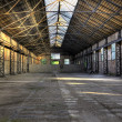Old empty warehouse — Stock Photo #10312636
