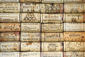 Background of wine corks — Stock Photo