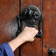 Ancient decorative handle — Stock Photo