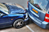 Collision de voiture. — Photo