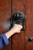 Ancient decorative handle — Stock Photo