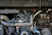 Bus engine — Stock Photo