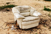 Old armchair. — Stock Photo
