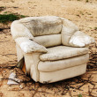 Stock Photo: Old armchair.