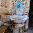 Ancient washstand - Stock Photo