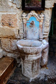 Ancient washstand — Stock Photo