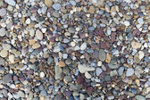 Texture of pebbles on the beach — Stock Photo
