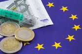 European financial crisis — Stock Photo