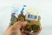 European coin starterkit — Stock Photo