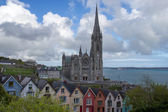 Cathedral of St. Colman in Cobh, Ireland — Stock Photo