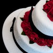 Rose cake - Stock Photo