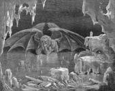 Inferno Satan — Stock Photo