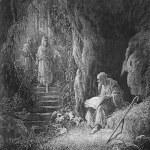 ������, ������: The cave scene